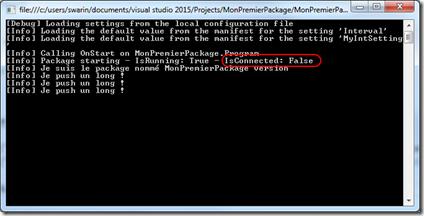 Les bases des packages .NET