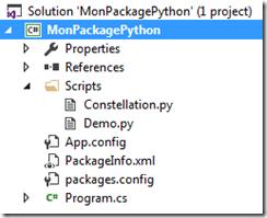 Structure d'un package Python
