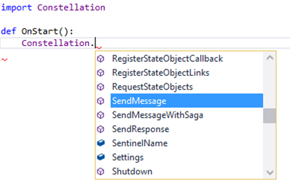 IntelliSense VisualStudio