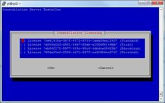 Web Platform Installer pour Linux : Choix des licences