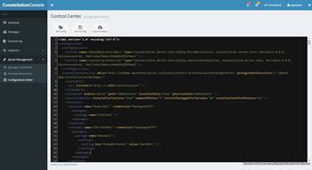 Le Configuration Editor