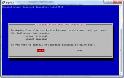 Installation des prérequis Python