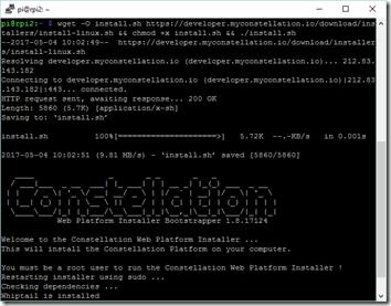 Démarrage du Web Platform Installer