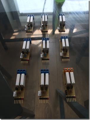Carte de relais par volet