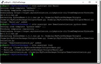 Ajout de scripts Python