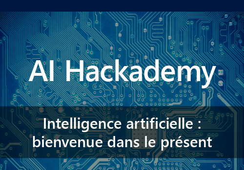 Constellation sera présent à l'AI Hackademy aux Microsoft experiences les 3 et 4 octobre 2017 au Palais des Congrès !