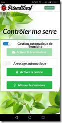 Page de contrôle