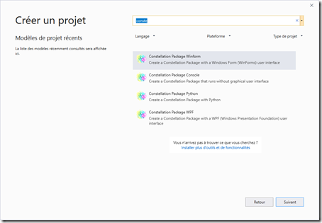 Constellation SDK 1.8.6 : extension asynchrone et fin du support pour Visual Studio 2012 et 2013